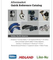 Haldex QR Catalog